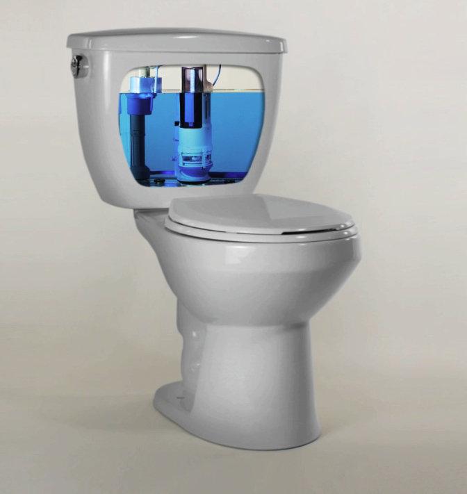water ridge dual flush toilet instructions