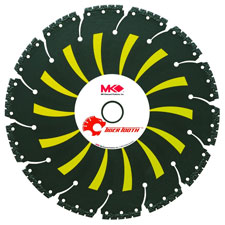 MK Diamond MK-304RCK Tiger Tooth premium demolition blade