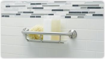 Superb Grab Bar Shelf, Grab Bar Shelf