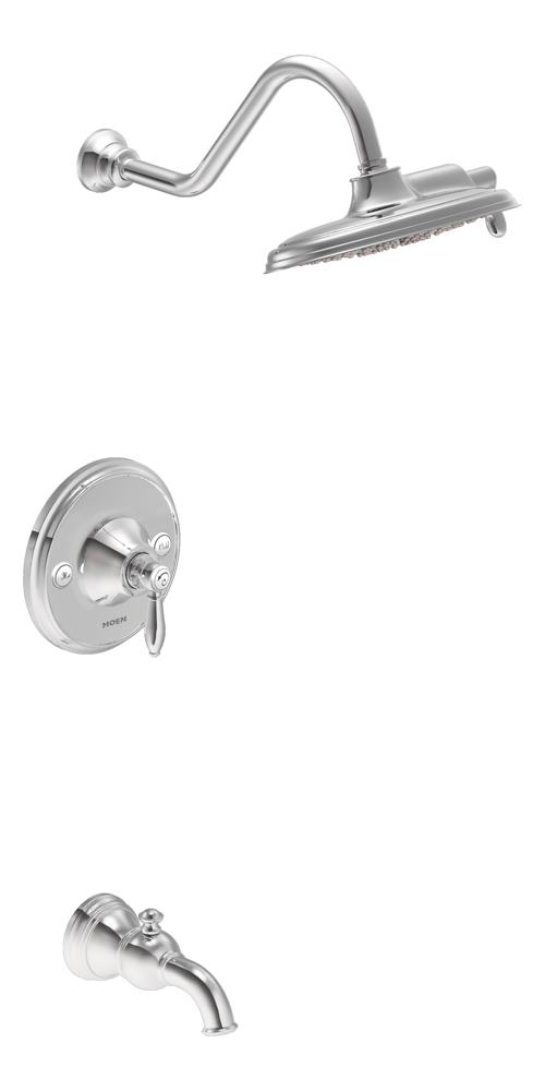 Weymouth Tub/shower Chrome. The Weymouth Tub/shower Trim Kit