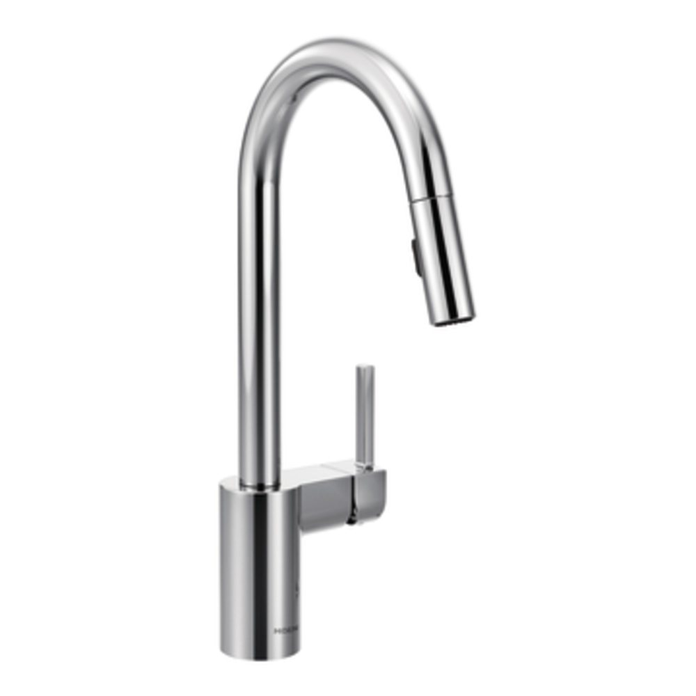 Moen Kitchen Faucet Pull Out Moen 7565srs Align One Handle High Arc Pulldown Kitchen Faucet