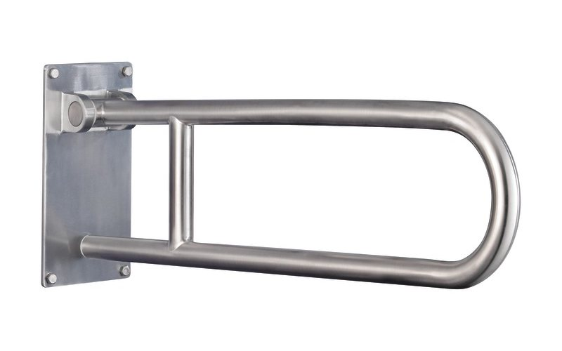 Flip Up Grab Bar In Stainless (view Larger).