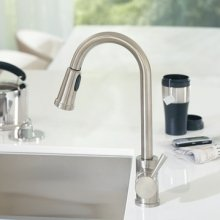 7175 Level One-Handle High-Arc Pullout Kitchen Faucet