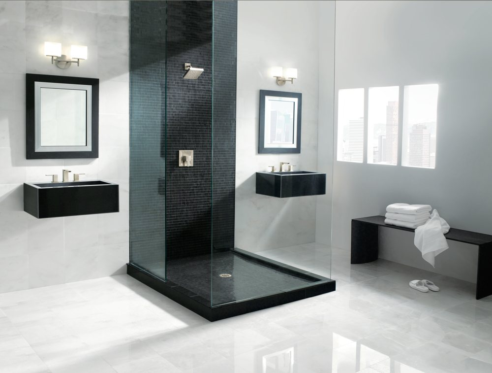 Moen ts3715 90 degree moentrol shower trim kit without for Habitaciones minimalistas