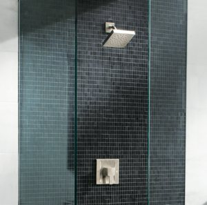 Moen TS3715BN 90-Degree Moentrol Shower Only, Brushed Nickel ...