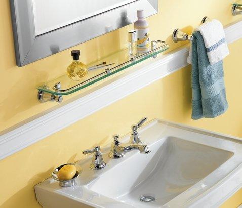 TS6205 Rothbury Two Handle Low Arc Bathroom Faucet
