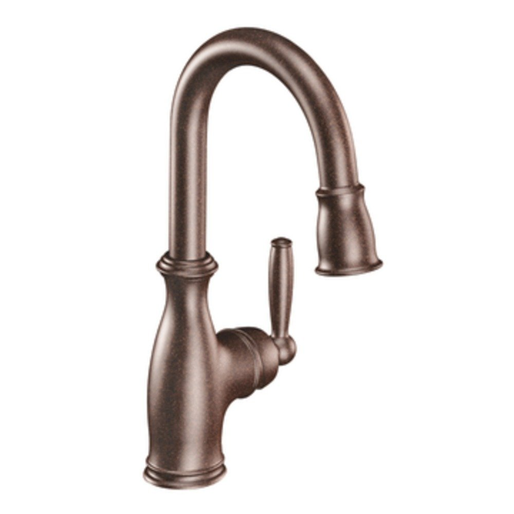 BTPUY moen brantford kitchen faucet The Brantford one handle bar faucet in oil rubbed bronze view larger