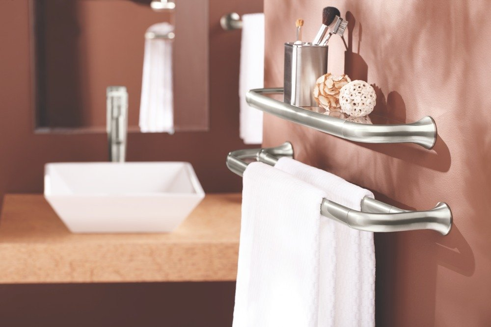 yb9222 life - Moen Towel Bars