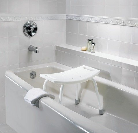 Moen dn7025 adjustable tub and shower seat for Soaking tub with seat