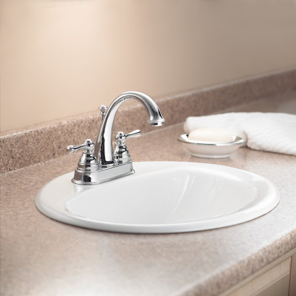 Moen 6121bn Kingsley Two Handle High Arc Bathroom Faucet