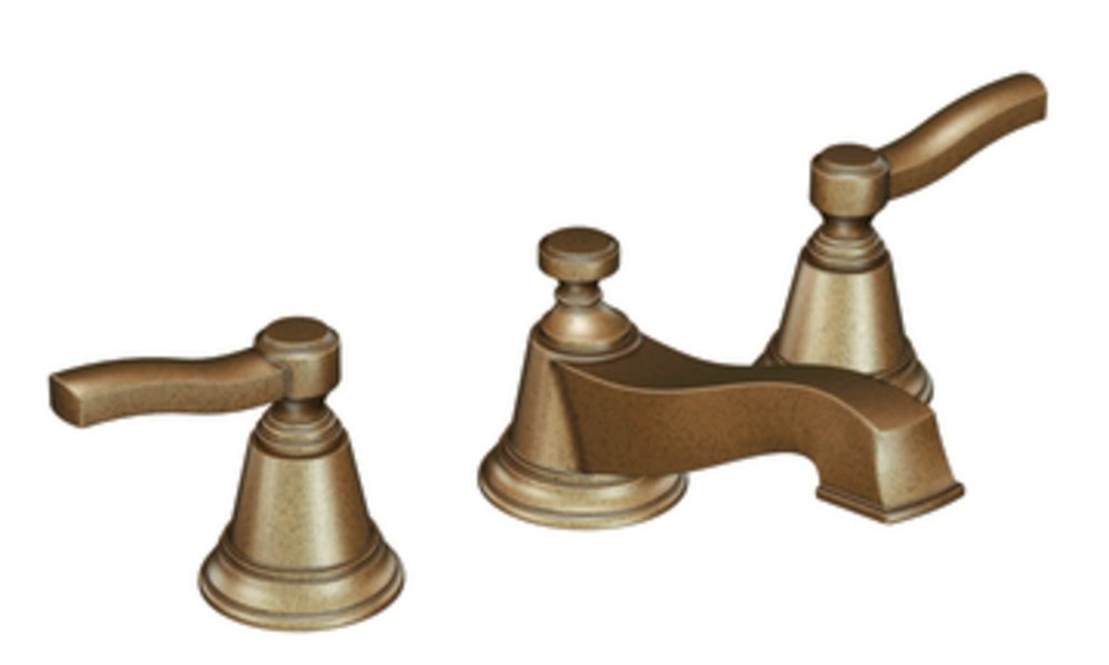 Moen Ts6205az Rothbury Two Handle Low Arc Bathroom Faucet Without Valve Antique Bronze Touch