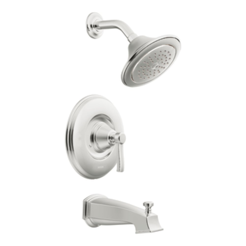Moen TS2213BN Rothbury Posi-Temp Tub and Shower Trim Kit without ...