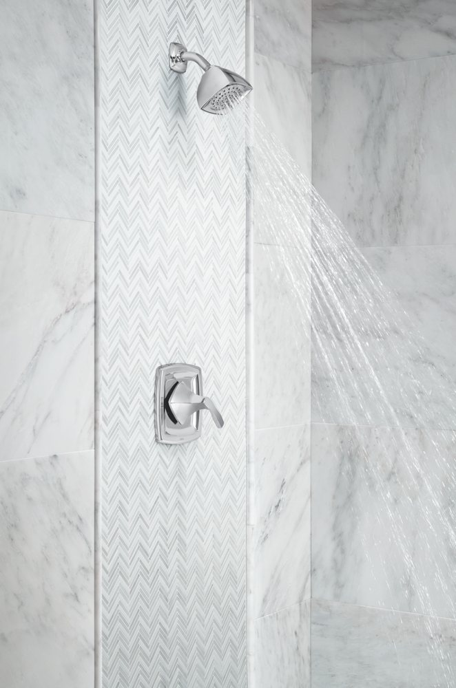 Moen T2692 Voss Posi-Temp Shower Only Faucet Chrome - Tub And Shower ...