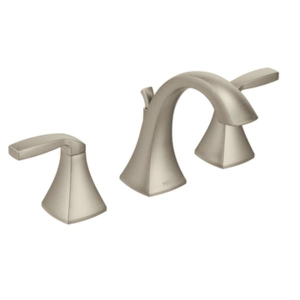 Moen T6905bn Voss Two Handle High Arc Widespread Bathroom