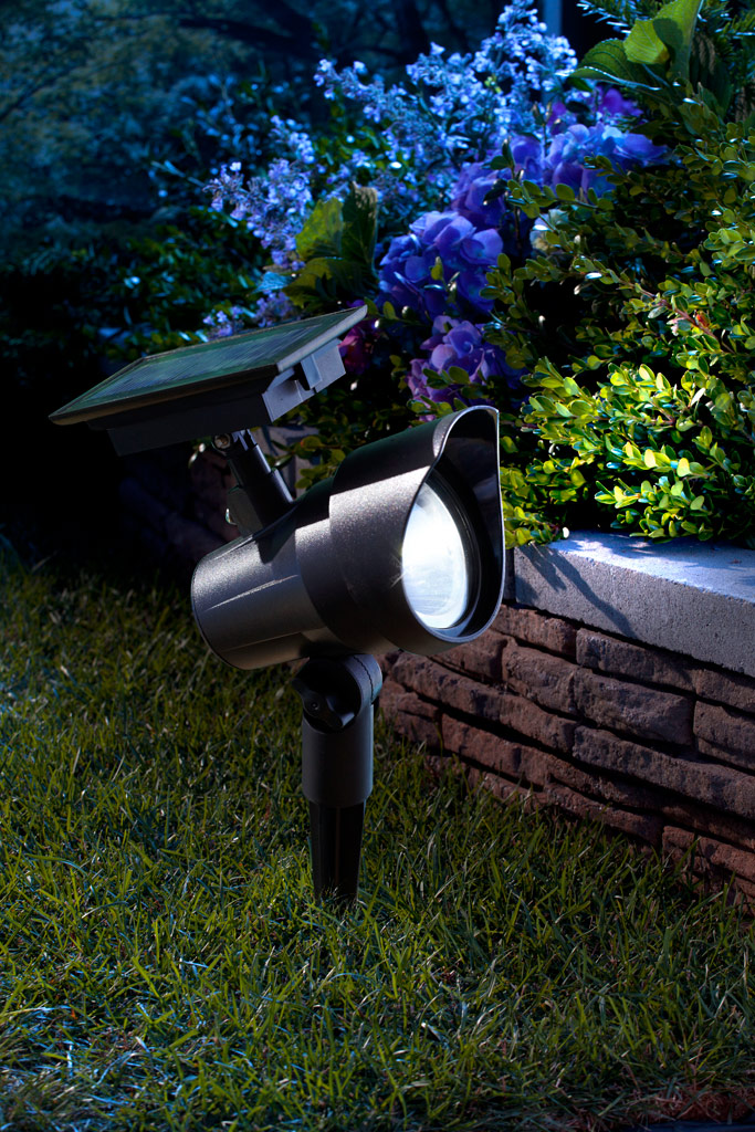 Moonrays 93380 premium output solar powered led spotlight moonrays premium spotlight this solar powered led mozeypictures Image collections