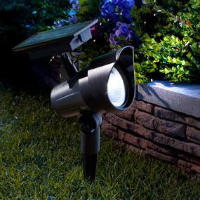 Best Seller Moonrays 93380 Premium Output Solar-Powered LED Spotlight