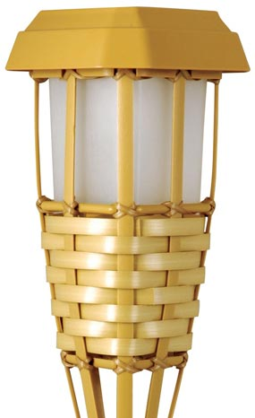 Moonrays 91206 solar powered tiki torch led path light natural moonrays tiki torch workwithnaturefo