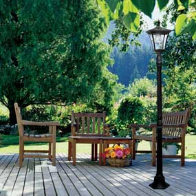 Paradise solar high-power LED patio light