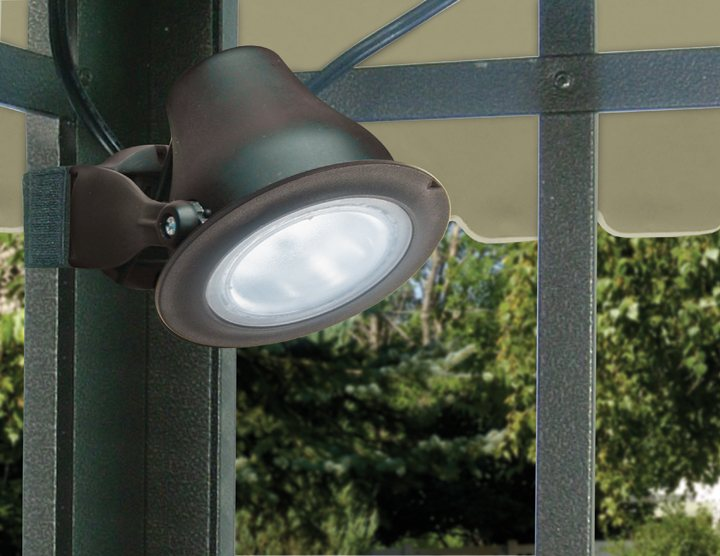 Paradise Gl23143 Plastic Solar Powered Led Gazebo Light