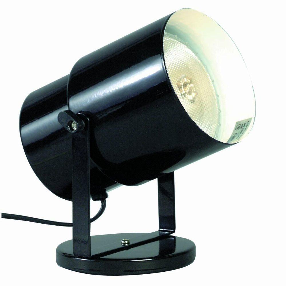 Wall Mounted Movable Lamp : Amazon.com: Satco Products SF77/394 Multi-Purpose Portable Spot Light, Black: Home Improvement