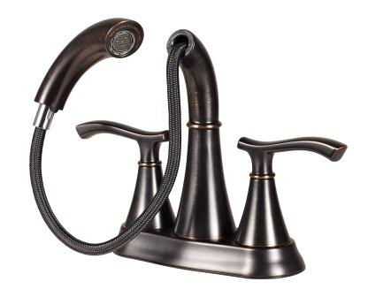 Pfister Elevate Faucet Dual Spray