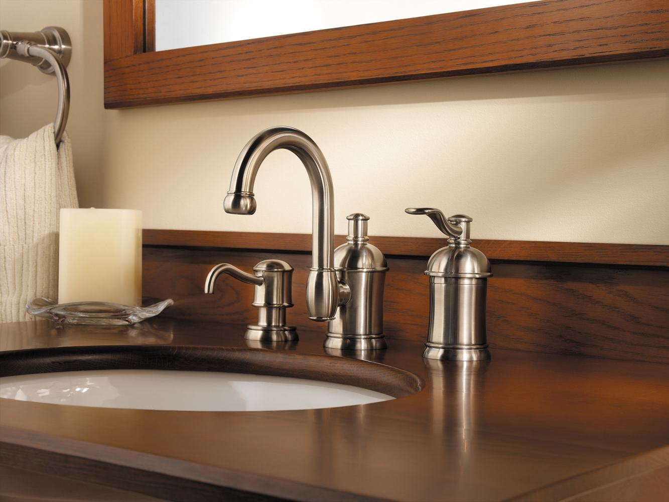 inch handle spread sink widespread faucet bathroom american standard hampton faucets