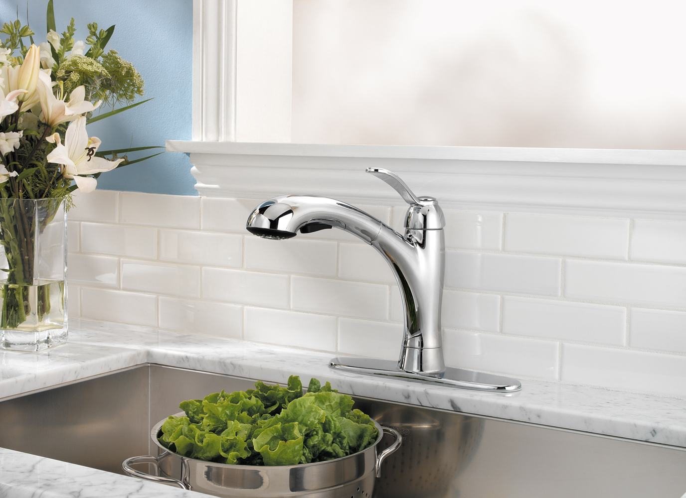 Pfister Clairmont 1 Handle Pull Out Kitchen Faucet