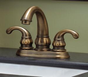 Treviso 4-inch velvet bronze