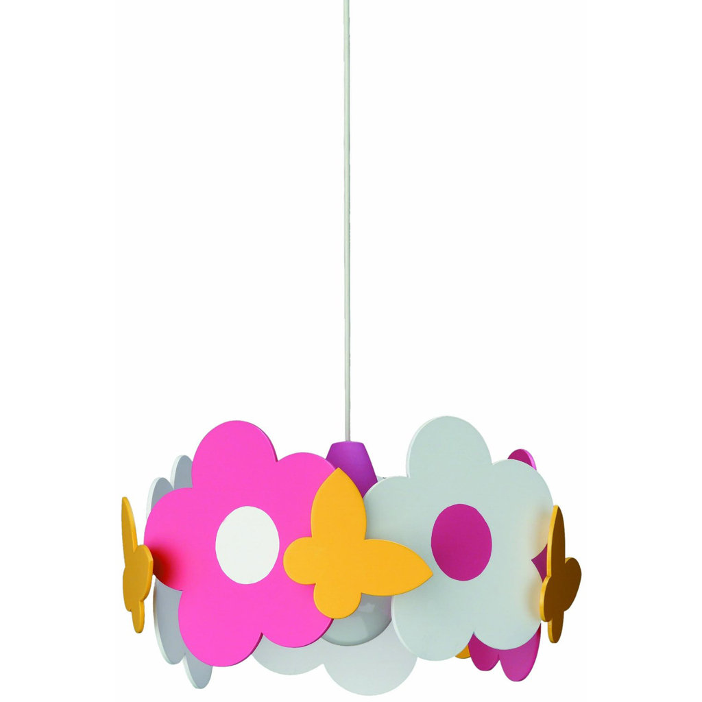 philips 40178 55 48 kidsplace floral pendant light multi