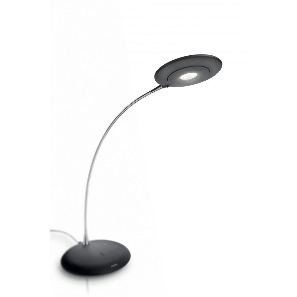 Philips 422213048 Ledino Led Table Lamp Black Amazon Com