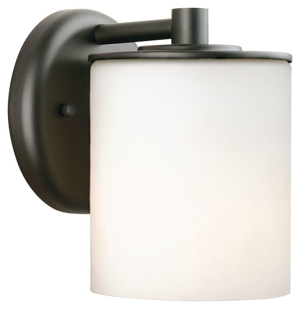 Wall Light Amazon: Forecast Lighting F8499-19 Midnight One-Light Exterior