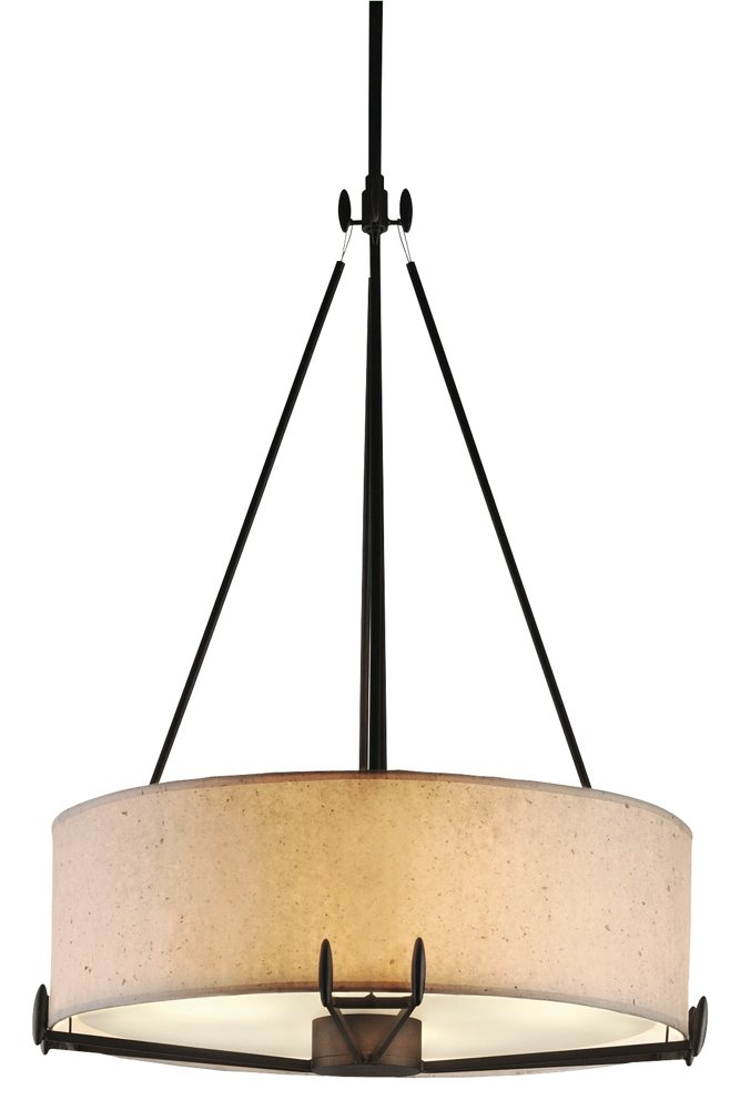drum shade pendant lighting. see larger image drum shade pendant lighting