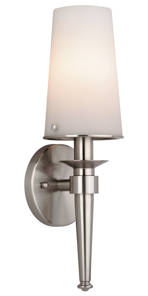 philips bathroom lighting philips forecast f542736nv2 torch bath light satin nickel 13961
