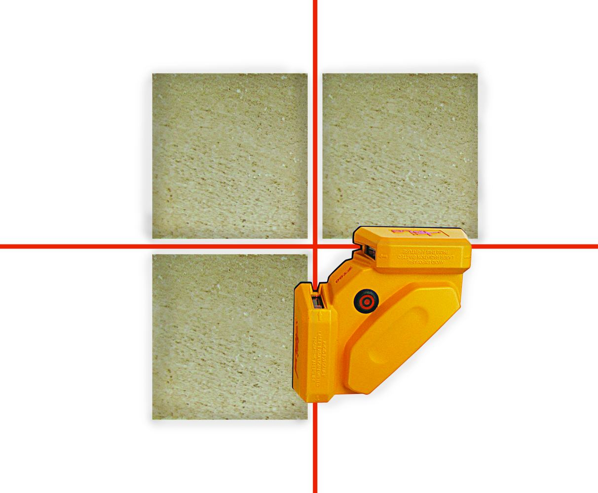 Pls laser pls 60567 pls ft 90 floor tile for Tile floor layout tool