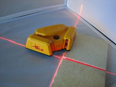 Pls laser pls 60567 pls ft 90 floor tile layout tool for Tile floor layout tool