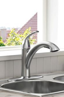 Quince pull-out faucet