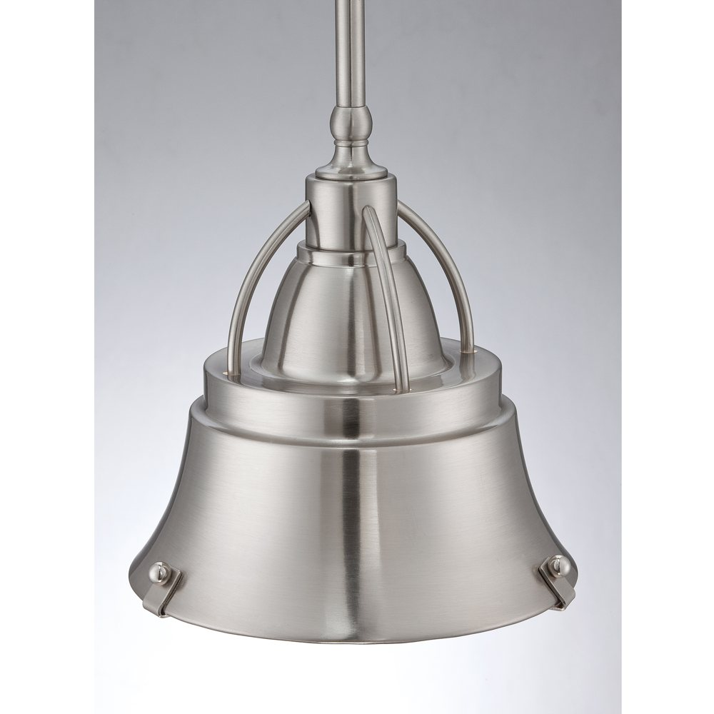 Nickel Pendant Lighting Kitchen Brushed Nickel Mini Pendant Light Soul Speak Designs
