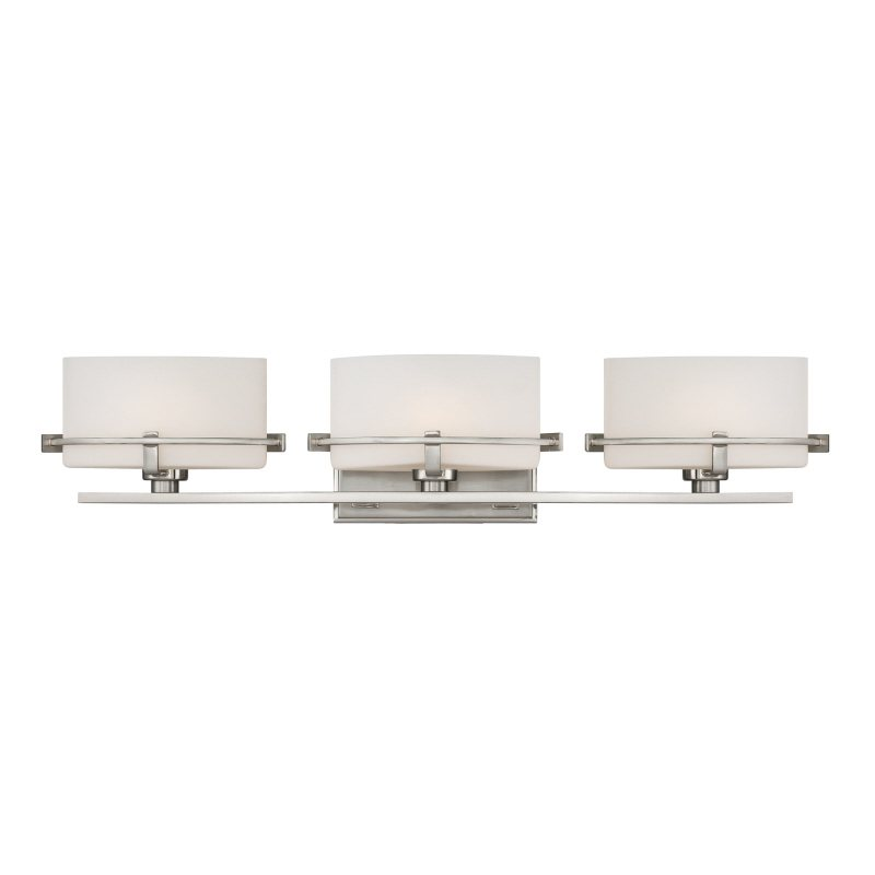 Quoizel NN8603BN Nolan 26.5-Inch W 3 Light Bath Wall Light Fixture ...