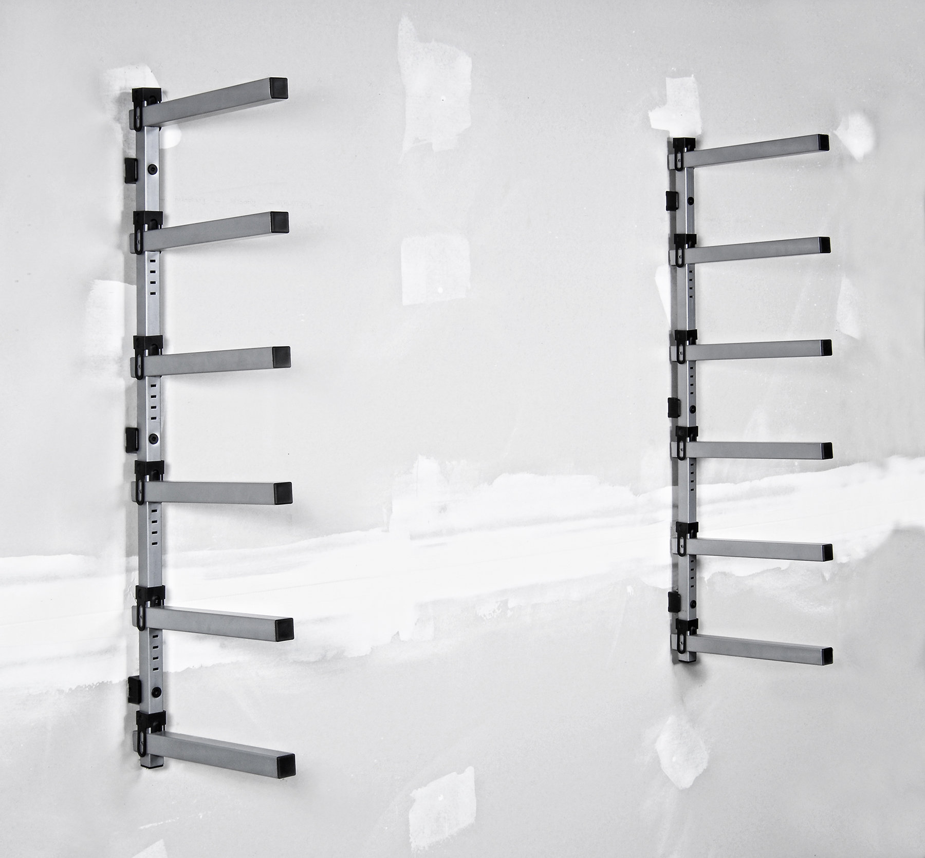 Lumber Storage Rack Compact Sheet Goods Storage Rack