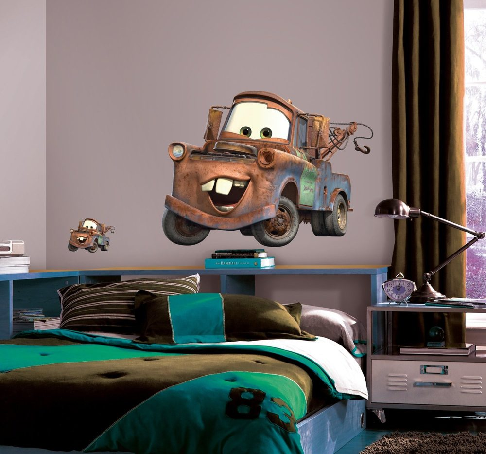 Giant Mater wall decal from Cars (view larger).