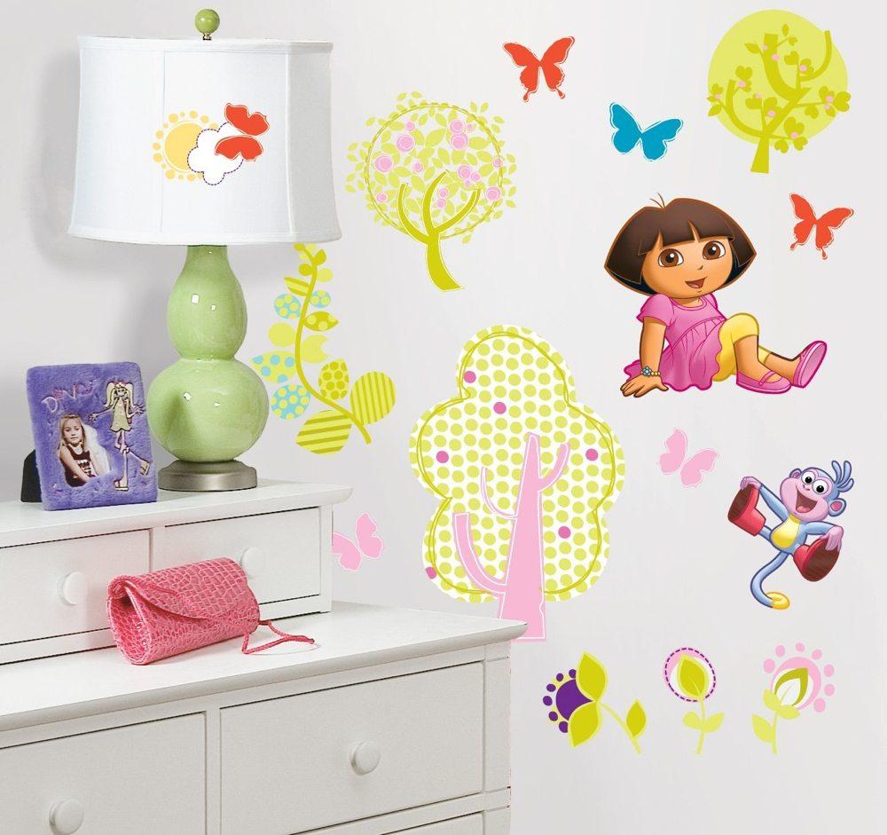 Roommates rmk1378scs dora the explorer peel stick wall decals doraexplorer amipublicfo Choice Image