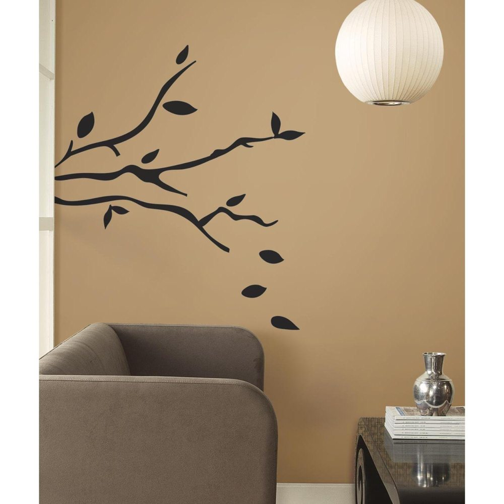 roommates rmk1317gm tree branches peel stick wall decals. Black Bedroom Furniture Sets. Home Design Ideas
