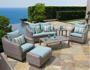 Marvelous Cannes Patio Furniture By RST Brands Turns Any Backyard Into A Destination  Retreat. View Larger