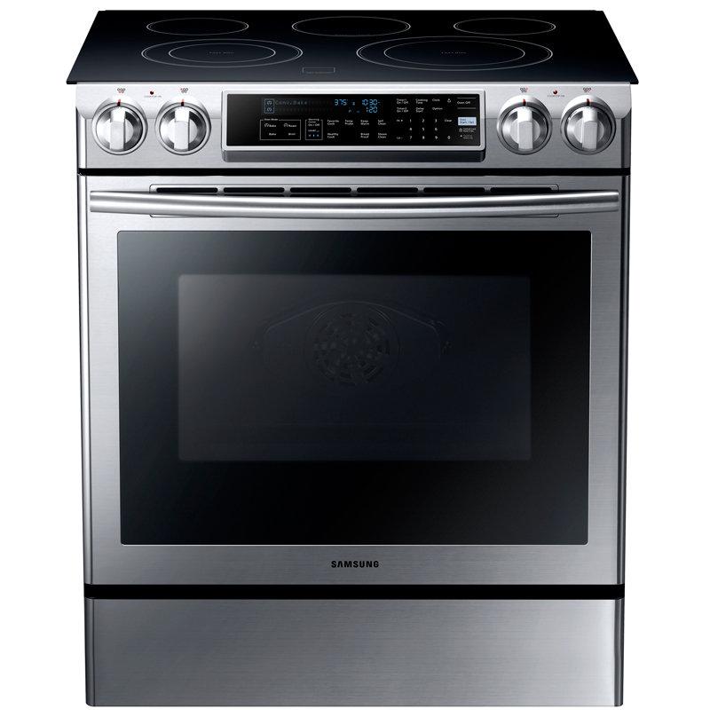 samsung electric range samsung ne58f9500ss slide in electric range appliances