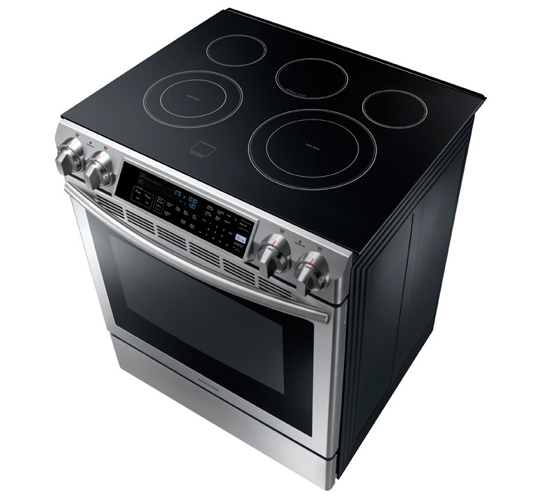 Amazon Com Samsung Ne58f9500ss Slide In Electric Range