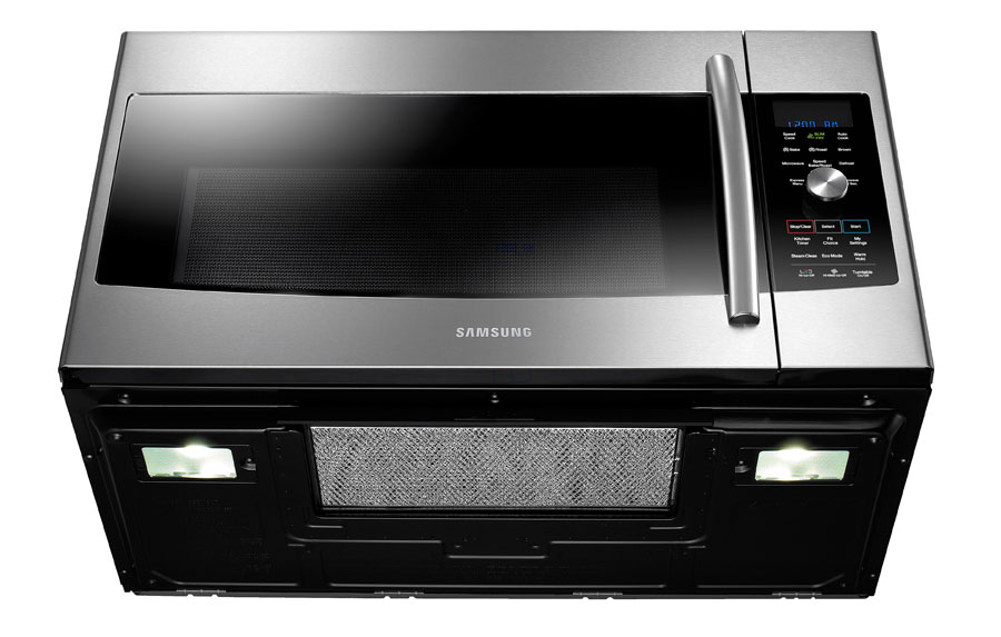 Amazon Com Samsung Mc17f808kdt Over The Range Convection