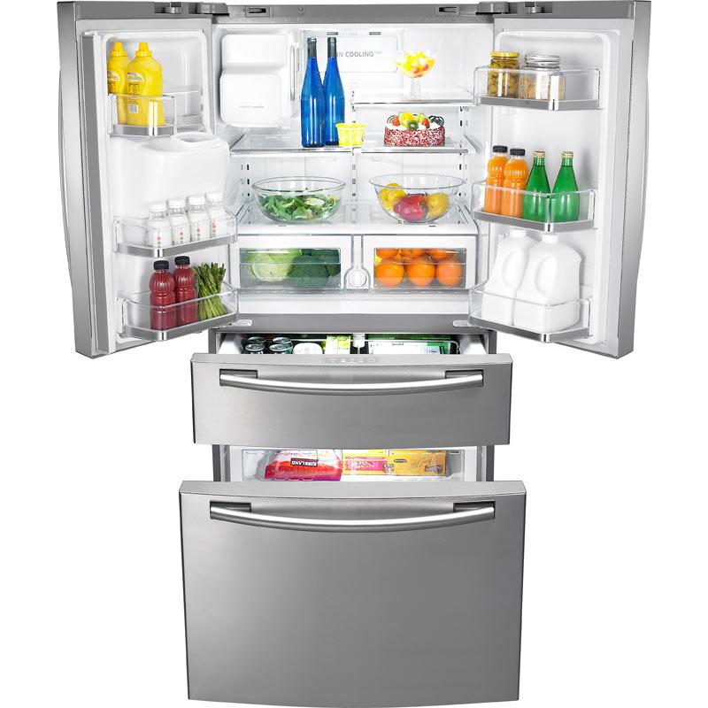Amazon Com 25 5 Cu Ft French Door Refrigerator With