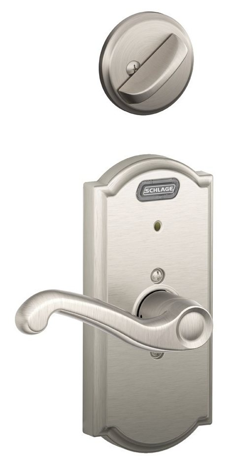 Schlage Fe59 Fla 619 Cam Lh Built In Alarm Camelot