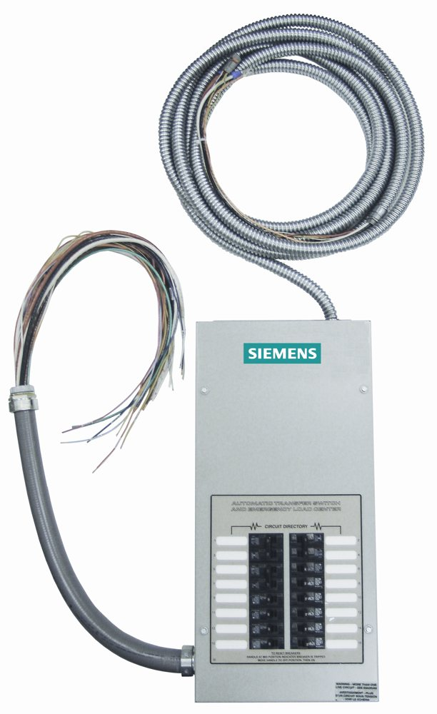 amazon com siemens st100r16c st type 100 amp 16 circuit generator rh amazon com siemens 200a manual transfer switch siemens 200a manual transfer switch