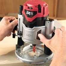 1827 120V 2 HP Plunge Base Router